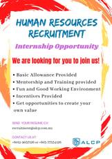 Job Opening-Allianz Life Changing Platform (Internship Human Resources)