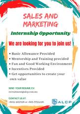 Job Opening-Allianz Life Changing Platform (Internship Sales & Marketing)